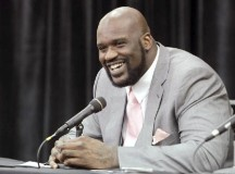 Shaq O'Neal attends North East Texas Humor Research Conference