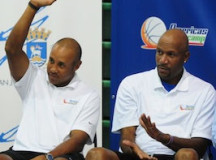 John Starks, Ron Harper and Allan Houston attend charity event – PHOTOS
