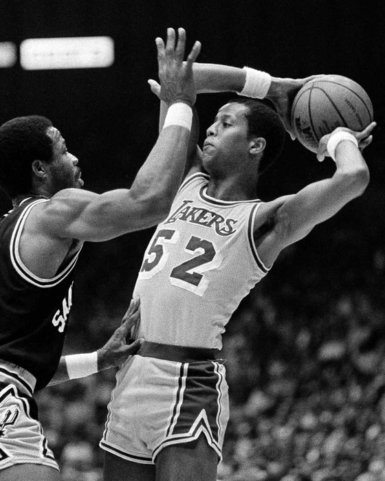 Lakers vs Spurs NBA Playoffs 1983