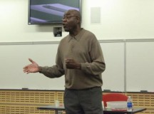 Ex-NBA player speaks to Keene St. College men's and women's basketball players