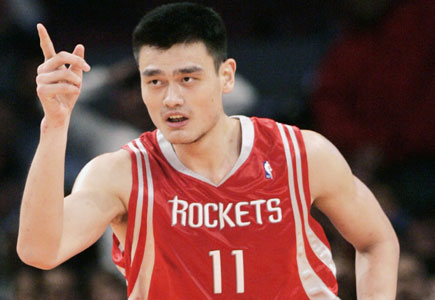 Yao Ming about his val...
