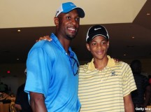 Alonzo Mourning's son following dad's footsteps