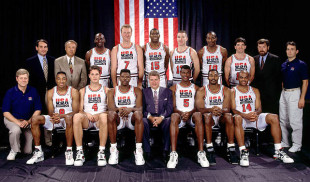 Barcelona-92 Olympic Games: USA Dream Team games (VIDEO)