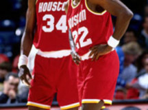 Olajuwon, Drexler say they both could play in NBA at age 50