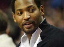 Robert Horry and NBRPA presented new hearing devices to Elementary School of Houston