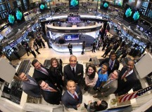Pro Basketball Alumni Supports John Starks at the NYSE