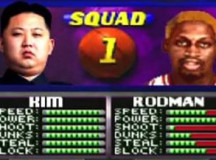 "Kim Jong-un and Rodman dominate North Korean ""NBA Jam"" – VIDEO"