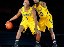 Michigan leans on sons of former NBA players