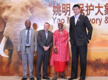Ex-Houston Rockets center Yao Ming stands up to poaching