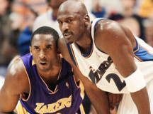 Michael Jordan congratulates Kobe Bryant on unbelievable career