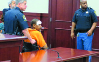 Ex-NBA guard Mookie Blaylock appears in court sitting in a wheelchair – PHOTOS