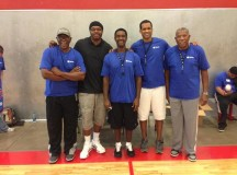 Ex-NBA players Sam Perkins, Mark Aguirre participate in youth charity clinic – PHOTOS