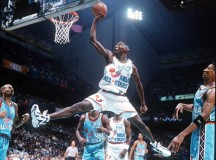 Shawn Kemp in 1996 NBA All-Star game – PHOTOS