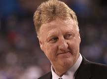 "Larry Bird says he wants his statue to be ""taller"" than Magic Johnson's"