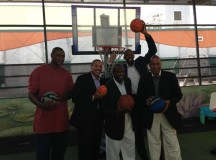 Former NBA players visit Children's Hospital of Miami – PHOTO