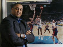 Former NBA player Tate George on trial for wire fraud
