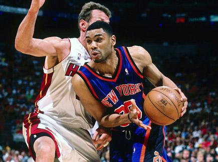 New York Knicks vs Miami Heat (Playoffs 2000) - VIDEO