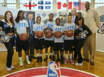 NBA legend Robert Parish, Minnesota Timberwolves' dancers visit children hospital – PHOTOS