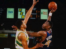 Denver Nuggets vs Seattle Supersonics (1994 Playoffs, G2) – VIDEO