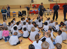 NBRPA legends participate in toy drive, conduct youth basketball clinic in Las Vegas