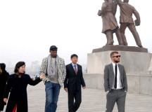 Dennis Rodman leaves for N. Korea next week with current, former NBA stars