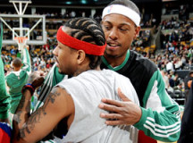 Retired Allen Iverson falls behind Paul Pierce on all-time scoring list