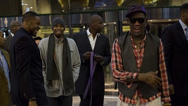 rodman-with-former-nba-players-korea