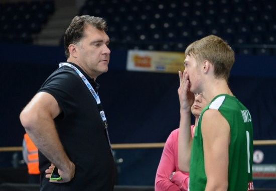 Youngest son of great Arvydas Sabonis gets closer to the NBA