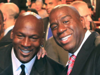 "Magic Johnson thanks Jordan for support as NBA bans Sterling ""for life"""