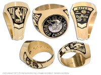 NBA legends selling their championship rings, other trophies