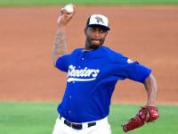Tracy McGrady's pro baseball debut – not so good