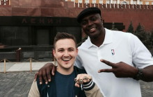 Horace Grant in Russia for NBA's 3×3 streetball tournament – PHOTOS