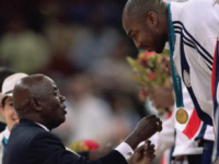 Vin Baker auctions his Sydney 2000 Olympic Gold medal