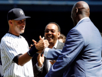 NBA legend Michael Jordan – another Derek Jeter admirer