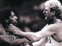 Ex-NBA ref recalls Larry Bird fighting Julius Erving