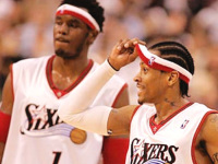 Iverson's former teammate in Philadelphia recalls playing with him
