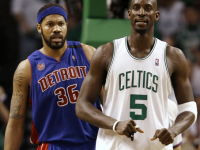 Where is Rasheed Wallace? Kevin Garnett answers…