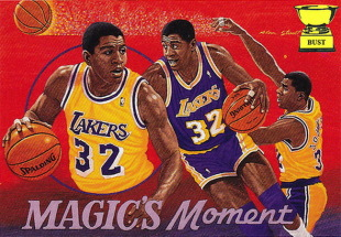 21 vintage NBA basketball artwork cards