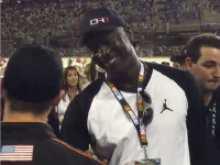 Michael Jordan too greedy to pay for a ticket to NASCAR race?