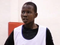 Manute Bol's giant son aims for NBA to help his family