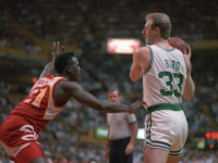 Dominique Wilkins recalls Larry Bird trash-talking him as young player
