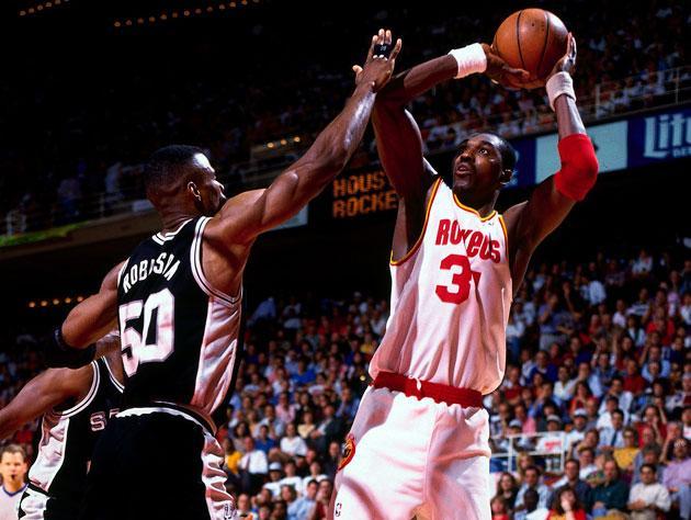 Olajuwon recalls 1995 season, says Robinson deserved MVP