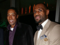 Scottie Pippen steps down, LeBron James steps up