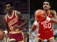 Ex-Rockets, Hall of Famers Sampson, Murphy teach life lessons to children