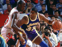 Magic Johnson admits he often calls Jordan for free shoes