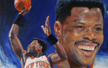 Patrick Ewing moved from 20th spot on NBA's all-time scoring list