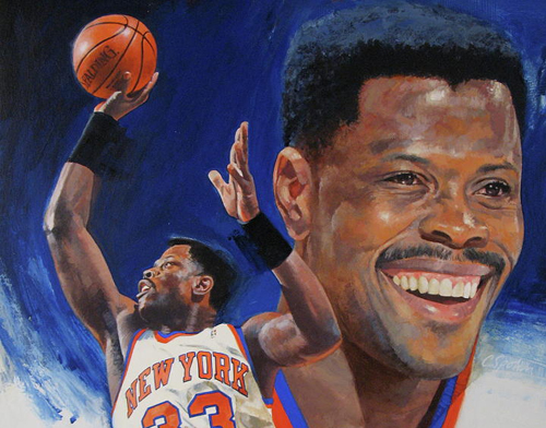 Ewing moved from 20th spot on NBA's all-time scoring list