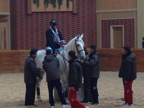 rodman-horse-north-korea