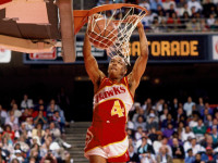 WATCH: 5'7 Spud Webb dunks the ball…during NBA game