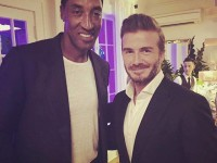 Scottie Pippen hangs out with David Beckham in Miami (PHOTOS)